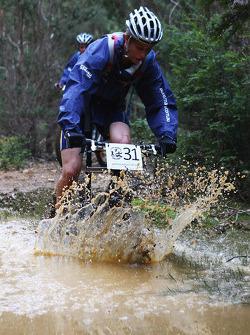 Launceston, Australia: Chris Wootton, Team Right To Win action