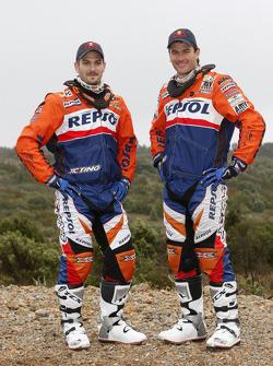 KTM: Jordi Viladoms and Marc Coma