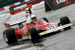 Walter Burani im Ferrari 312T von 1975