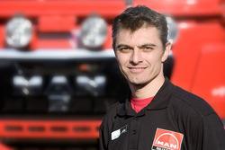 MAN Rally Team: Peter Willemsen, co-driver truck 3