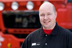 MAN Rally Team: Edwin van Dooren, service truck 1