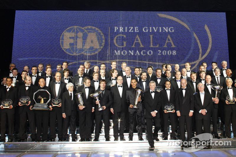 All the FIA trophy winners