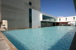 Swimming pool at the circuit