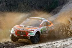 Repsol Mitsubishi Ralliart Team: Hiroshi Masuoka and Pascal Maimon