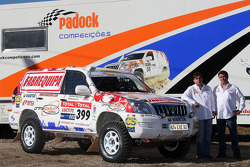 Equipa Padock: driver Francisco Pita and Humberto Goncalves
