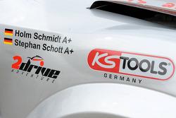 Team FleetBoard Mercedes-Benz: #365 Mitsubishi Pajero of Stephan Schott and Holm Schmidt