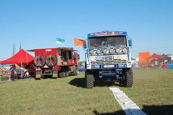 #501 Kamaz 4326: Vladimir Chagin, Serguey Savostin and Eduard Nikolaev