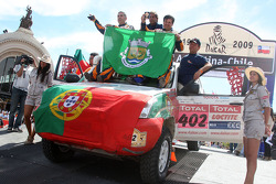 Car category podium: Martine Campos Pereira and Jose Manuel Teixeira Marques