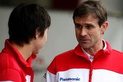 Kamui Kobayashi, Test Driver, Toyota F1 Team, Pascal Vasselon, Toyota Racing, Senior General Manager Chassis