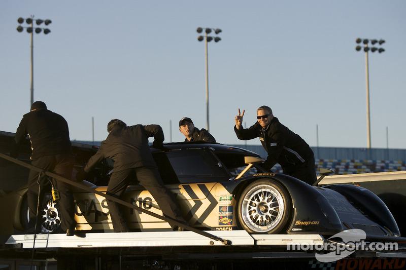 #16 Penske Racing Porsche Riley taken in the transporter