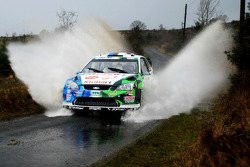 Urmo Aava and Kuldar Sikk, Ford Focus RS WRC 08, Stobart VK M-Sport Ford Rally Team