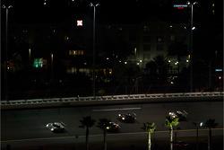 #13 Beyer Racing Pontiac Riley: Jared Beyer, Jordan Taylor, Ricky Taylor leads a group of cars