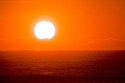 Sunrise over New Smyrna Beach