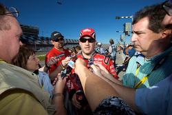Media attention for Tony Stewart, Stewart-Haas Racing Chevrolet