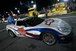 Chevrolet Corvette pace car for the Budweiser Shootout
