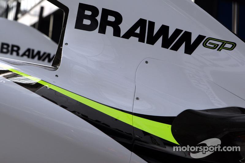 Le capot moteur de Brawn GP