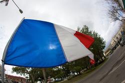 Bandeira da França em Sebring