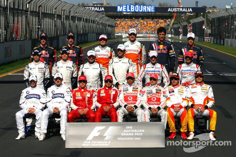 2009 Formula 1 sezonu pilotları