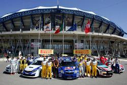 PWRC and JWRC drivers photoshoot