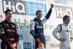 Round 3 podium