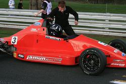 Josh Hill, son of Damon, grandson of Graham, starts the new season in the 2009 British Formula Ford Championship