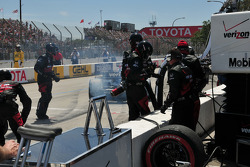 Will Power, Team Penske leaves the pits