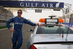 Piloto del coche de seguridad Bernd Maylander, FIA F1 y GP2