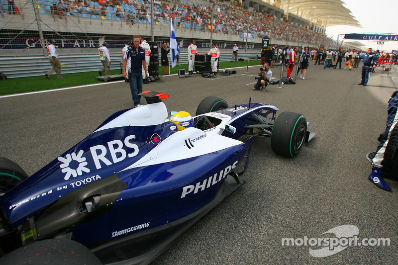 Williams fue 7º en el campeonato de constructores