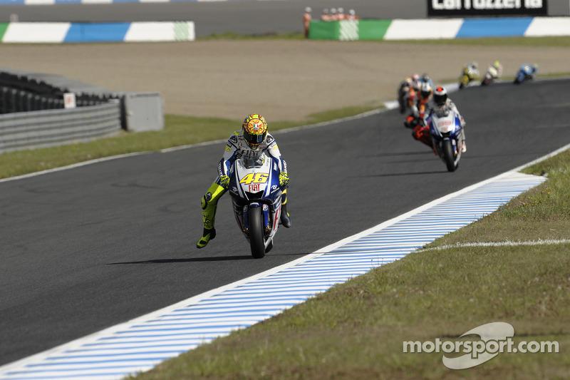Valentino Rossi, Fiat Yamaha Team y Jorge Lorenzo, Fiat Yamaha Team