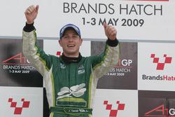 Adam Carroll, driver of A1 Team Ireland wins the sprint race