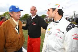 Joe Ramirez, Vitantonio Liuzzi, driver of A1 Team Italy