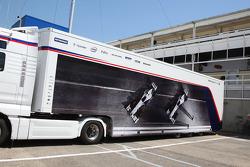 BMWSauber trucks