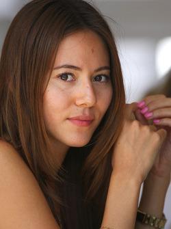 Jenson Button's girlfriend Jessica Michibata