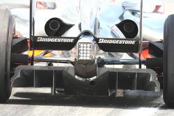 McLaren rear diffuser
