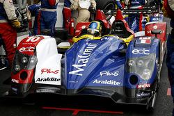 Pit stop practice; #10 Team Oreca Matmut - AIM Courage-Oreca LC70 - AIM: Stéphane Ortelli, Bruno Senna