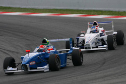 Luiz Felipe Nasr, Eurointernational leads Michael Christensen, Muecke Motorsport