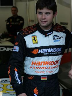 #89 Hankook - Team Farnbacher Ferrari F430 GT: Pierre Kaffer