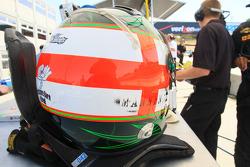 Helmet of Darren Manning