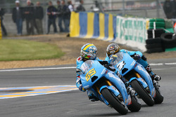 Loris Capirossi, Rizla Suzuki MotoGP, Chris Vermeulen, Rizla Suzuki MotoGP