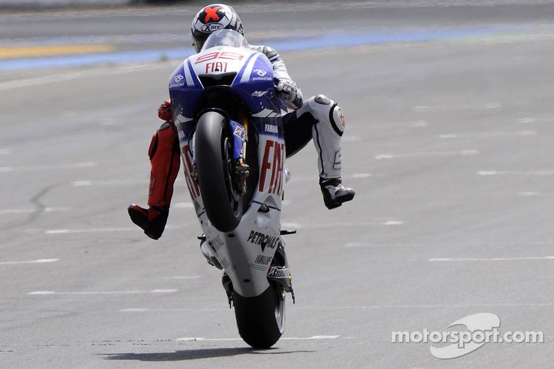 2009: Jorge Lorenzo, Yamaha YZR-M1