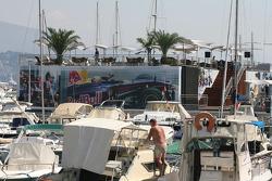 Red Bull Racing energy station