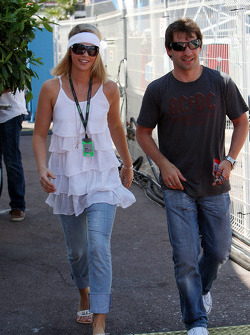 Isabell Reis, Girlfriend of Timo Glock, Timo Glock, Toyota F1 Team