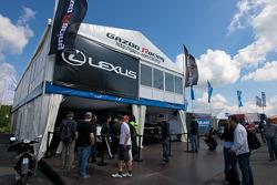 Gazoo Racing Lexus paddock area