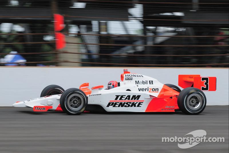 2009 - Helio Castroneves, Dallara/Honda