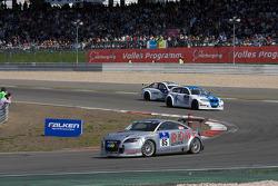 #85 Team Rowe Motorsport Audi TT: Franz Rohr, Michael Zehe