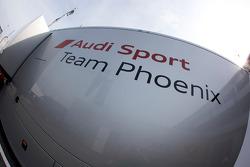 Phoenix Racing transporter