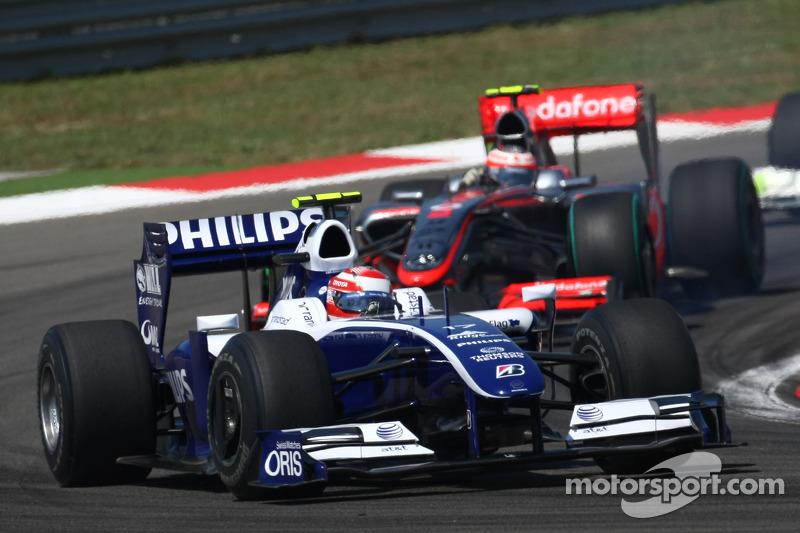 Казукі Накадзіма, Williams Toyota