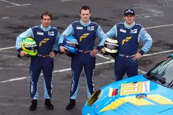 Wolf Henzler, Marc Lieb and Richard Lietz