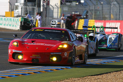 #82 Risi Competizione Ferrari F430 GT: Jaime Melo, Pierre Kaffer, Mika Salo