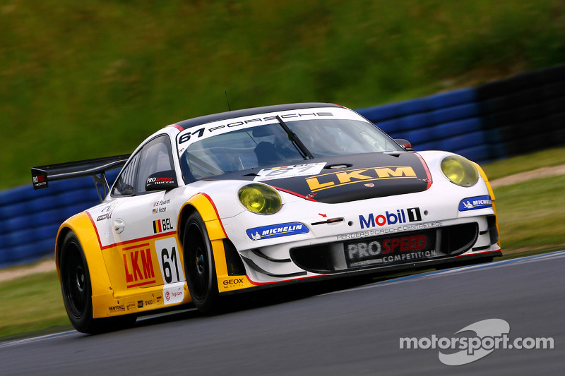#61 Prospeed Competition Porsche 997 GT3 RSR: Sean Edwards, Marco Holzer